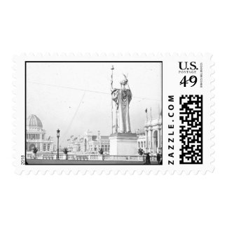 Postage-World's Fair-Court of Honor
