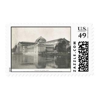 Postage-World's Fair-Fine Arts Building Postage Stamp