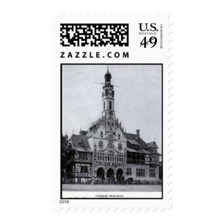 Postage-World's Fair-German Building
