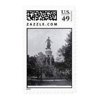 Postage-World's Fair-Ohio Statue