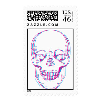Postage Your Way with Blue Skull