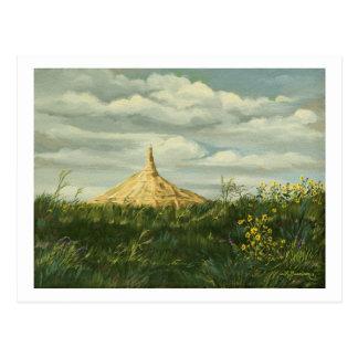 Postal 1170 del paisaje de la roca de la chimenea
