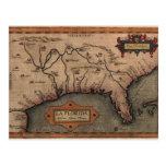 Postal 1584 del mapa de la Florida del La