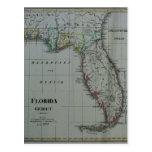 Postal 1823 del mapa de la Florida