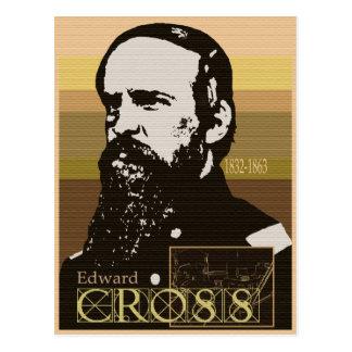 Postal 1832-1863 de la cruz de Eward