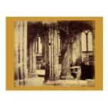 Postal 1860 de la capilla de Rosslyn