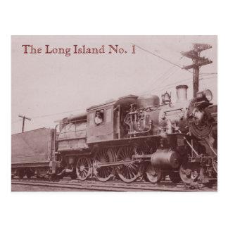 Postal 1900 de la locomotora de Baldwin