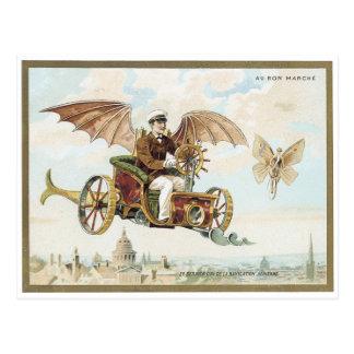 Postal 1900 del Victorian de Marche Palais del Bon