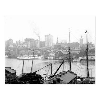 Postal 1903 de Baltimore Maryland