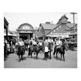 Postal 1904 de Coney Island NY