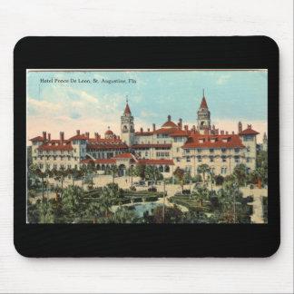 Postal 1910 de Ponce de León Hotel Alfombrilla De Ratones
