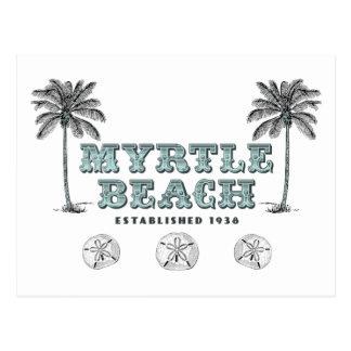 Postal 1938 del SC Est de Myrtle Beach