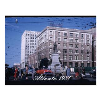 Postal 1951 de Atlanta