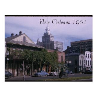 Postal 1951 de New Orleans