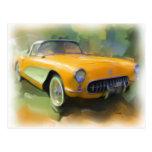Postal 1957 del Corvette