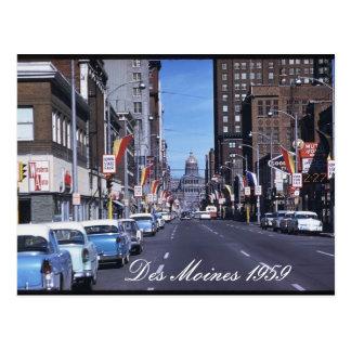 Postal 1959 de Des Moines
