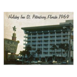 Postal 1969 de Holiday Inn St Petersburg la Florid