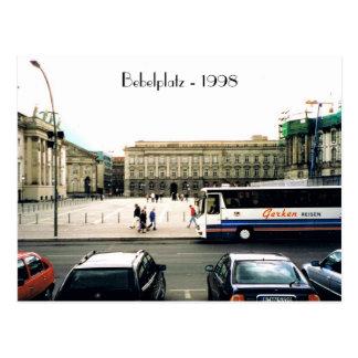 Postal 1998 de Bebelplatz