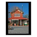 Postal #1 de la estación de tren de Berwyn