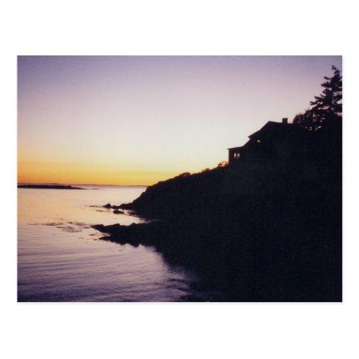 Postal 1 de las puestas del sol de RI