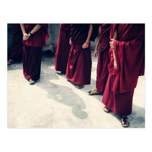 Postal 1 de los monjes