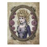"""Postal #1 del arte de la fantasía de la """"belleza"""""""