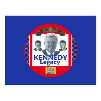 Postal 2009 de la herencia de Ted Kennedy