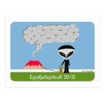 Postal 2010 del volcán de Islandia