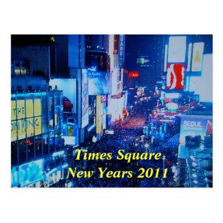 Postal 2011 de los años de SquareNew de las épocas
