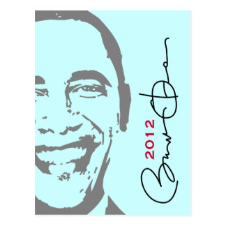 Postal 2012 de la MOD Obama