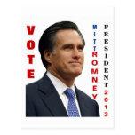 Postal 2012 de Mitt Romney del voto
