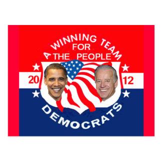 Postal 2012 de Obama