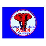 Postal 2012 de Palin