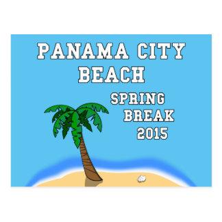 Postal 2015 de la playa de ciudad de Panamá de las
