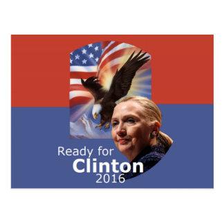 Postal 2016 de Hillary