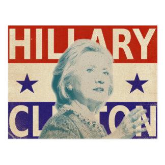 Postal 2016 de la elección de Hillary Clinton