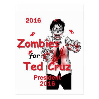 Postal 2016 de los zombis de Cruz