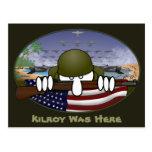 Postal 2 de Kilroy de la guerra mundial 2