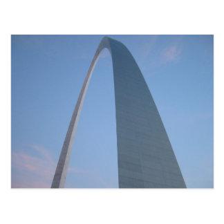 Postal 2 del arco de la entrada de St. Louis