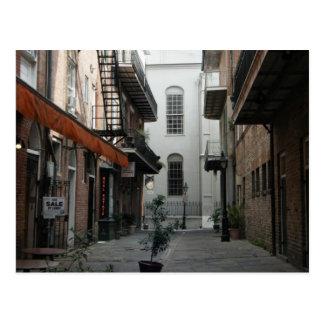 Postal #2 del barrio francés