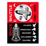 Postal 2 del transbordador espacial
