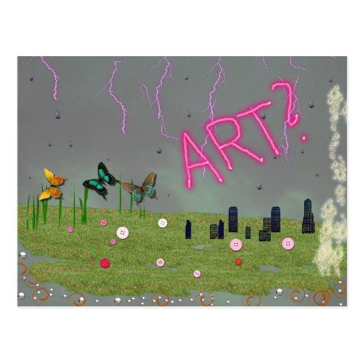 Postal 3 del arte no