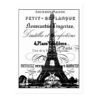 Postal 4 25 de Eiffel Tower_Paris x 5 6