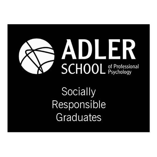 Postal 8 de la escuela de Adler