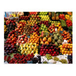 Postal 96 de la fruta y de la comida