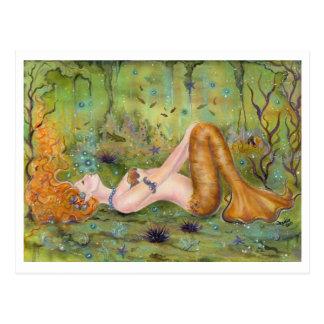 Postal a la deriva de la sirena por Renee L. Lavoi