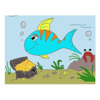 Postal a pescado