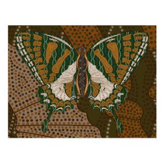 Postal aborigen de Swallowtail