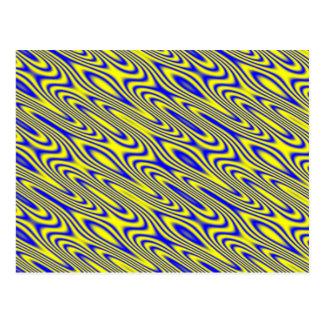 Postal abstracta del modelo de Swirlies del lapisl
