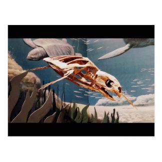 Postal acuática de Dino
